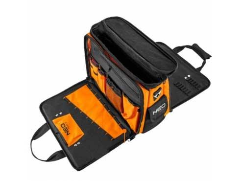 Τσάντα εργαλείων με αναδιπλούμενες πλευρές 84-308